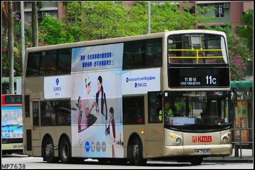 九巴11C線 - 香港巴士大典
