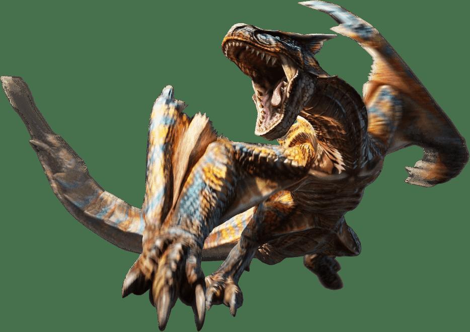 Tigrex - The Monster Hunter Wiki - Monster Hunter, Monster Hunter 2, Monster Hunter 3, and more