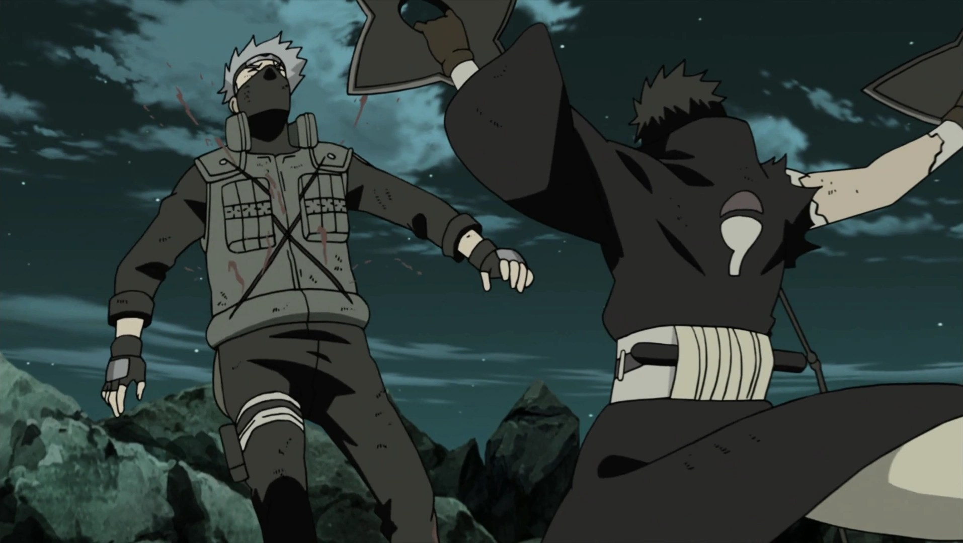 Naruto Obito Vs Kakashi - #traffic-club