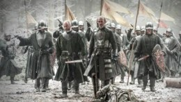 Stannis llega al Muro HBO