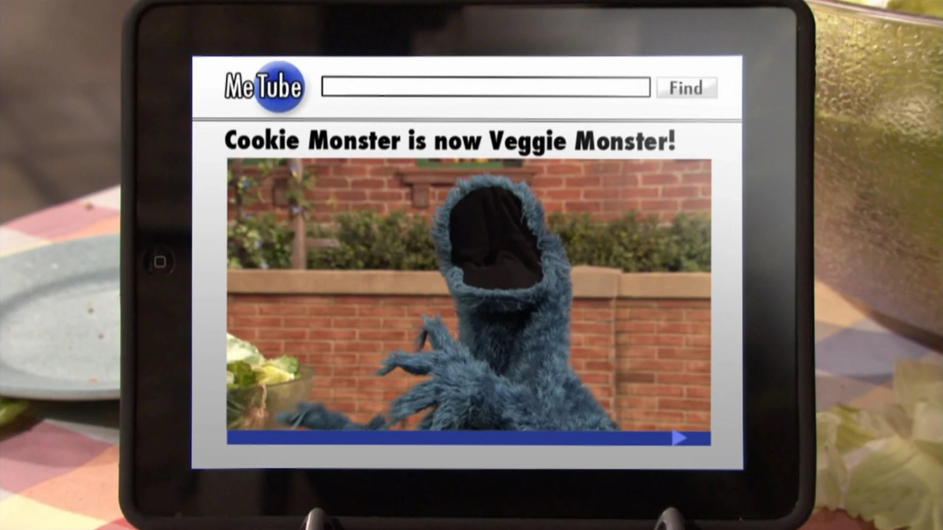 Is Cookie Monster Now The Veggie Monster