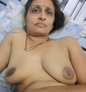 old fat indian aunty