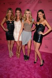 Doutzen Kroes, Candice Swanepoel, Rosie Huntington-Whiteley and Miranda Kerr