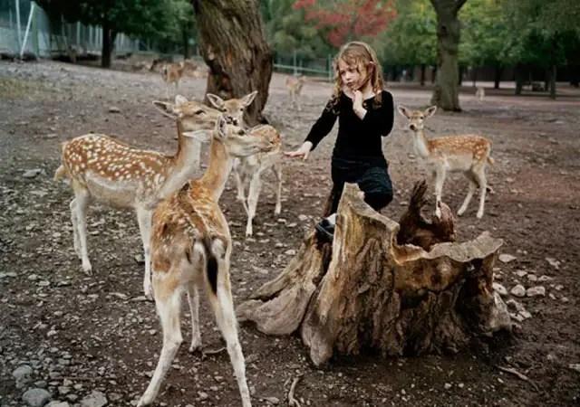 robinschwartzfotos - La fotógrafa Robin Schwartz muestra la conexión de su hija con animales de todo tipo