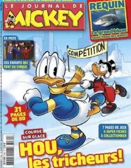 Le Journal de Mickey N°3161 du 16 au 22 Janvier 2013