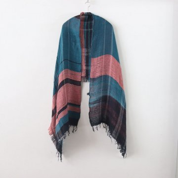 MOCOTTON SHAWL MIDDLE COTTON100% #ONLY ONE [20A028] _ tamaki niime | 玉木新雌