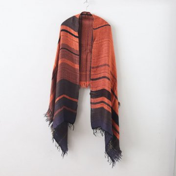 MOCOTTON SHAWL MIDDLE COTTON100% #ONLY ONE [20A033] _ tamaki niime   玉木新雌