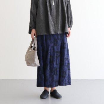 ダイヤルスカート #NAVY [20-651] _ susuri   ススリ