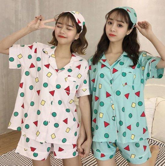 韓国パジャマ 目隠し付き
