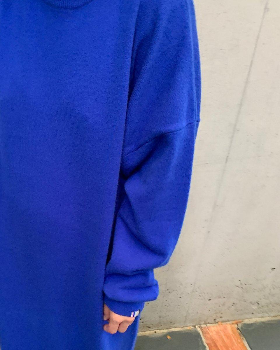 カシミアドレス ブルーの写真