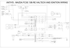 Haltech Haltech wiring for E8 to 13bre  RX7Club