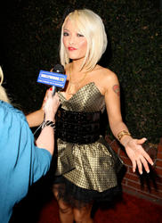 Tila Tequila in her slutty outfit showing off her body as she attends Fred Segal Event in LA - Hot Celebs Home