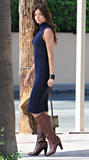 Miranda Kerr candids during photoshoot in Palm Springs