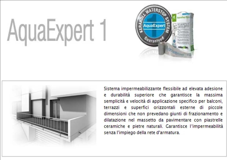 Dispense Sistema di Impermeabilizzazione AquaExpert Kerakoll | Edil ...