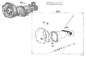 Old Celica Transmissions Diagrams (T40, T50, W40, W50 & P51)