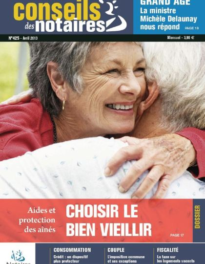 Conseils des Notaires N°425 Avril 2013