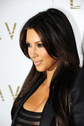 Kim Kardashian shows great cleavage in bod hugging dress as Lavo celebrates its 2nd anniversary at the Palazzo Resort Hotel and Casino - Hot Celebs Home