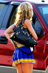 Ashley Tisdale & Aly Michalka leggy in cheerleader outfit giving glimpse of their asses on Set of Hellcats, Vancouver - Hot Celebs Home
