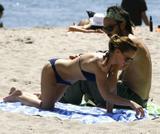 Christina Ricci Bikini Candids in Malibu Beach Pictures