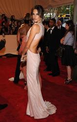 Alessandra Ambrosio - Metropolitan Museum of Art Costume Institute Gala in NYC - Hot Celebs Home