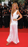 Petra Nemcova shows huge cleavage and some side-boob candids at Un Conte De Noel premiere during the 61st International Cannes Film Festival