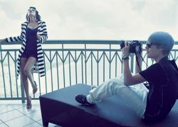 Kim Kardashian with Justin Bieber in preview of 'The Graduate' shoot for Elle - Hot Celebs Home