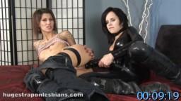 HugeStraponLesbians.com SiteRip - Kinky Lesbian Fetish, Lesbian Strapon sex, Latex Lesbian, Strapon Pussy Stretching, FreePornSiteRips.com