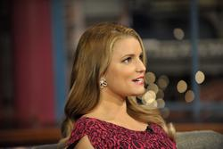 Jessica Simpson at Late Show with David Letterman - Hot Celebs Home