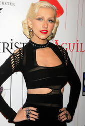 Christina Aguilera attends her Bionic album release party presented by Steven Webster at Avenue on June 9, 2010 in New York City - Hot Celebs Home