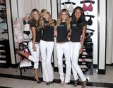 Alessandra Ambrosio, Lindsay Ellingson, Marisa Miller and Emanuela de Paula celebrate the 10 year anniversary of 'The Body By Victoria Collection' in New York City