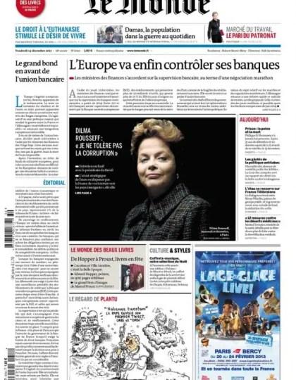 Le Monde et Suppléments Livres Vendredi 14 Décembre 2012