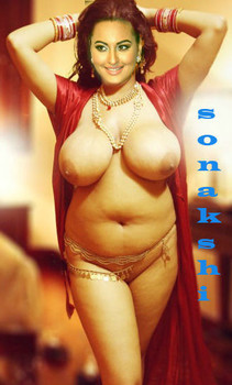 Big boobs Sonakshi Sinha naked sexy busty real body pic