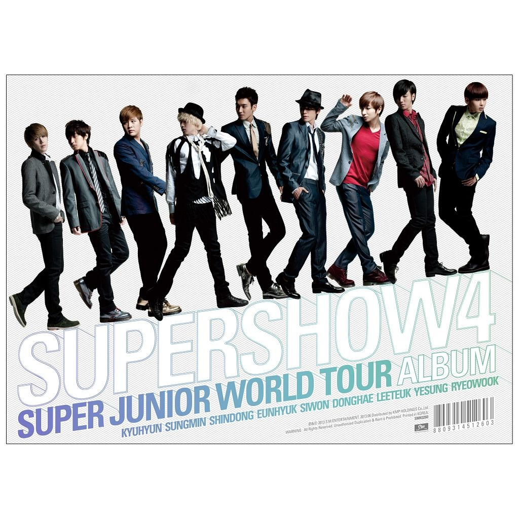 [Album] Super Junior - Super Junior World Tour 'Super Show 4' [3CD]