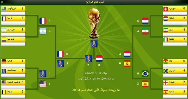 ابدأ رحلة كأس العالم البرازيل في اجمل لعبة كرة القدم