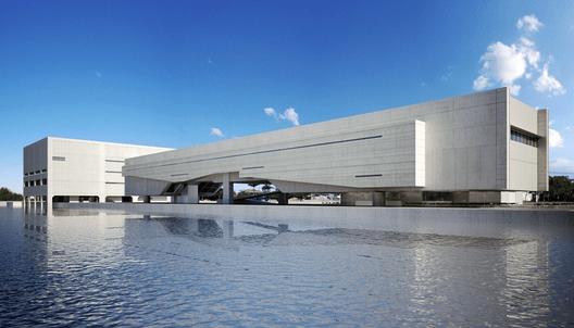 Cais das Artes / Paulo Mendes da Rocha + METRO. ImageCortesia METRO