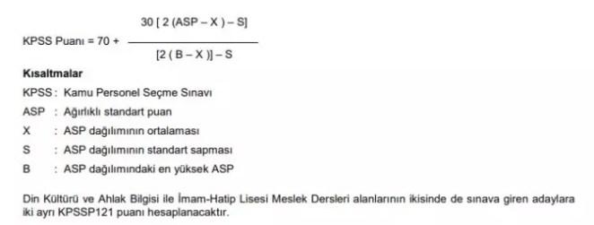 KPSS sınav değerlendirmesi nasıl yapılıyor? KPSS puan hesaplama 2021 nasıl? 17