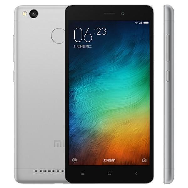 banggood Xiaomi Redmi 3S Snapdragon 430 MSM8937 1.4GHz 8コア GRAY(グレー)