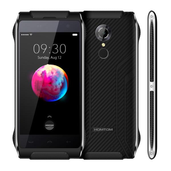 banggood HOMTOM HT20 Pro MTK6753 1.3GHz 8コア BLACK(ブラック)