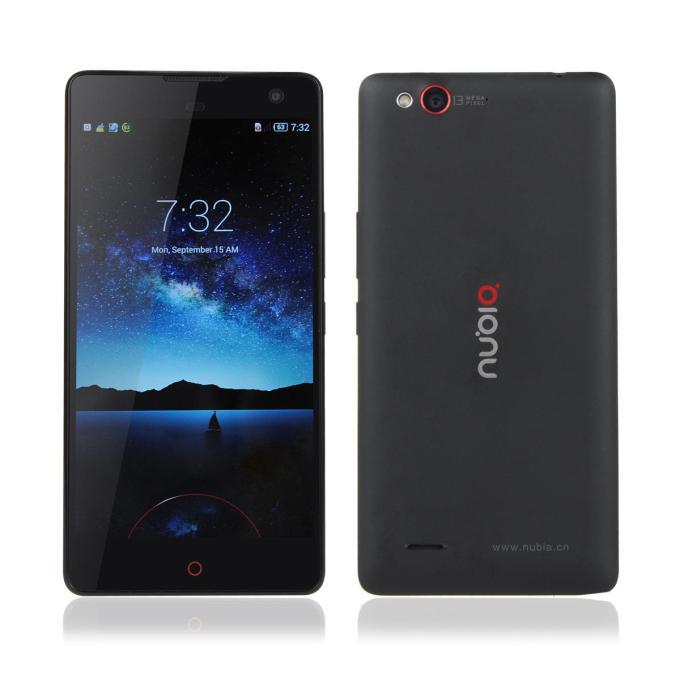 banggood ZTE Nubia Z7 Max Snapdragon 801 MSM8974AC 2.5GHz 4コア BLACK(ブラック)