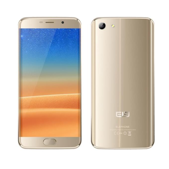 banggood Elephone S7 MTK6797 Helio X20 2.0GHz 10コア GOLDEN(ゴールデン)