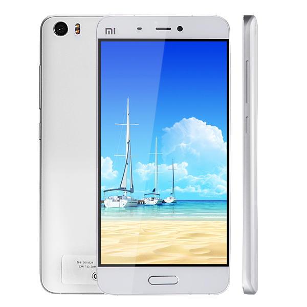 banggood Xiaomi Mi5 Snapdragon 820 MSM8996 2.15GHz 4コア,Snapdragon 820 MSM8996 lite 1.8GHz 4コア WHITE(ホワイト)