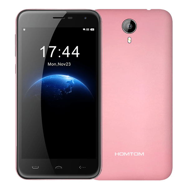 banggood HOMTOM HT3 MTK6735 1.0GHz 4コア PINK(ピンク)