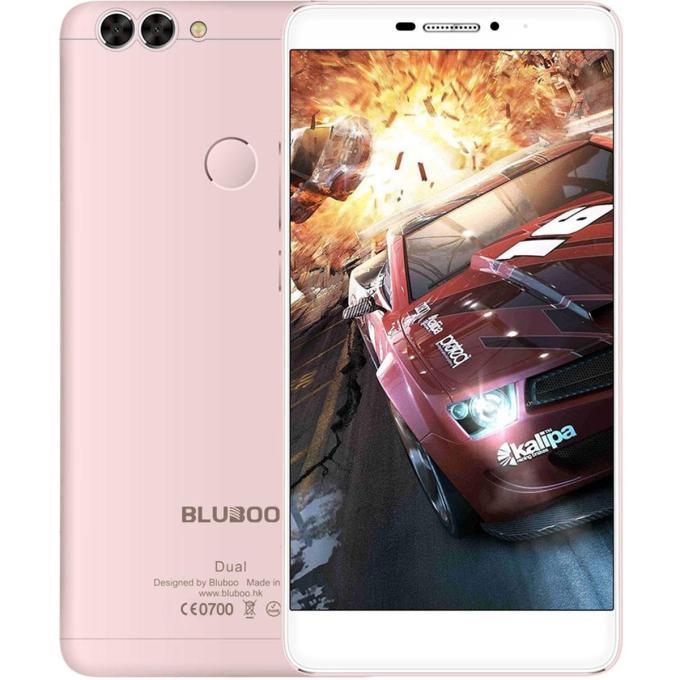 banggood BLUBOO Dual MTK6737T 1.5GHz 4コア ROSE GOLD(ローズゴールド)