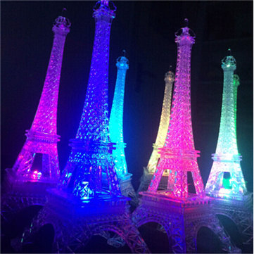 255cm Led Colors Changing Eiffel Tower Night Light Romantic Decorative Lights Decor Gift At