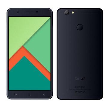 Elephone C1X 5.5'' Fingerprint 2GB RAM 16GB ROM MTK6737 Quad-core Smartphone