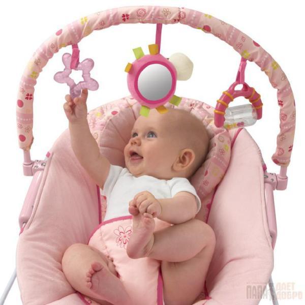 Музыкальное кресло-качалка, Bright Starts Для детей от 0 ...