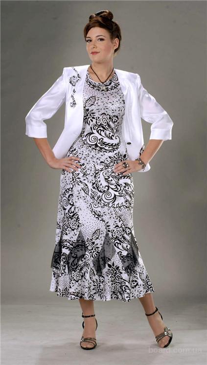 Польские женские костюмы и платья больших размеров продам ...