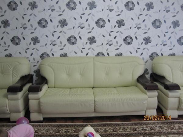 Продам шкіряний диван з кріслами - продам. Цена 18 000 ...