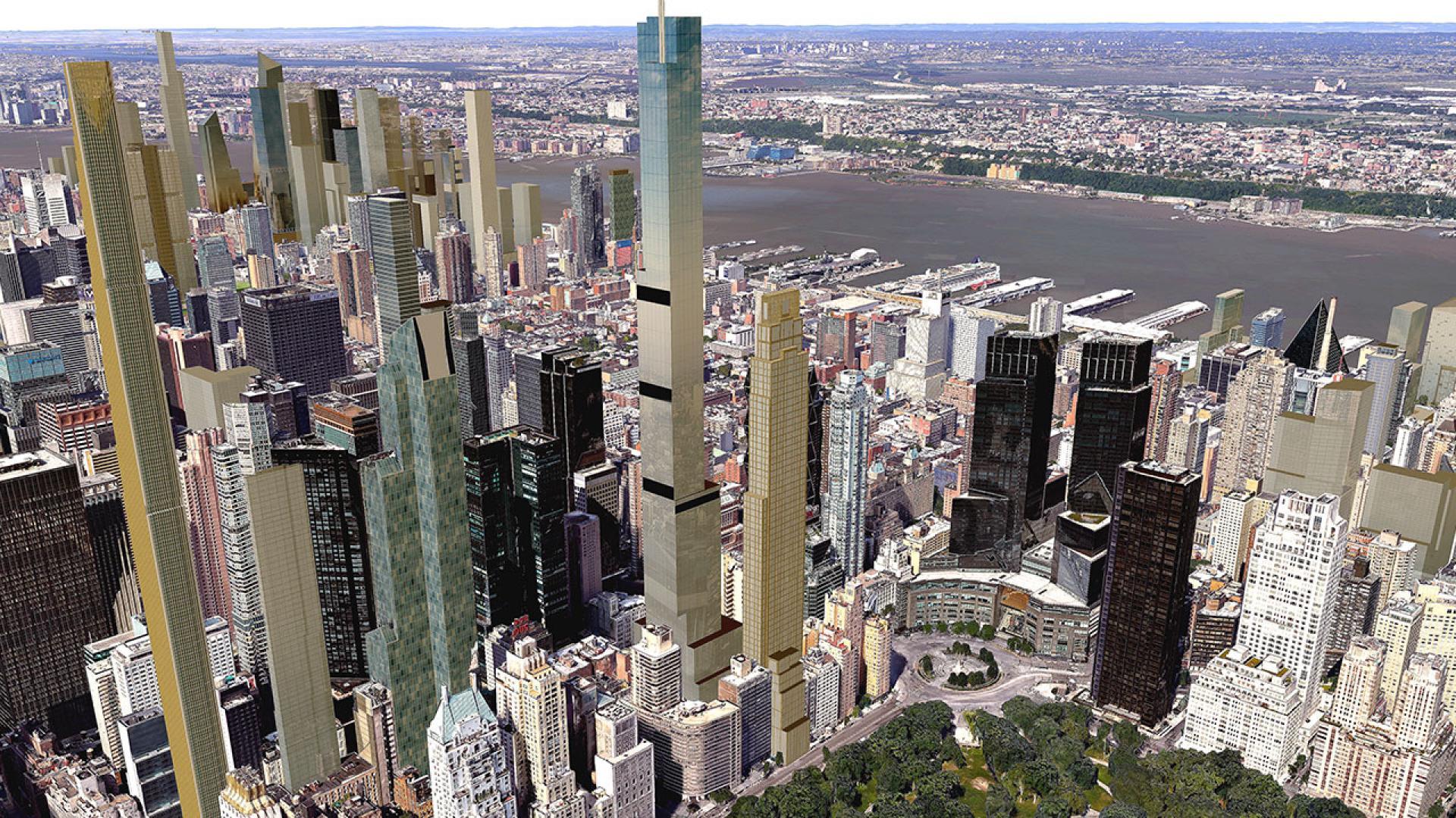 220 Central Park South Nyc Condo Apartments Cityrealty