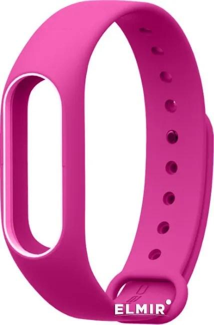 Ремешок для браслета Xiaomi Mi Band 2 Pink/White купить ...